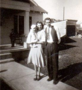 Daddy, Mama, and me, 1947