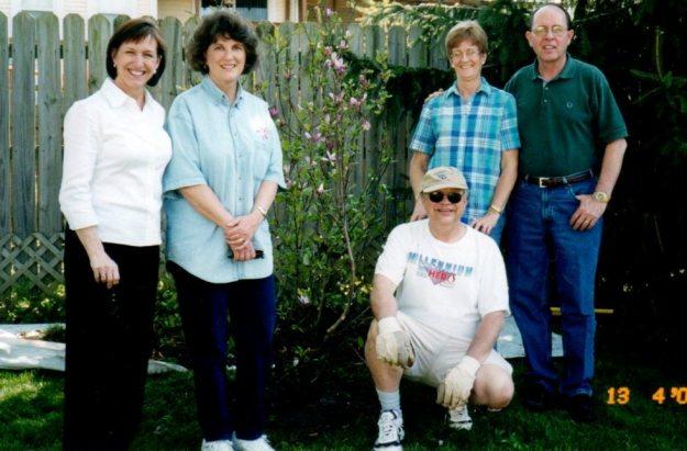 Lark,Kathy, Les, Belinda, George