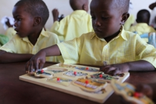 Wait for opportunities to teach children in education-starved places
