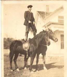 Great Uncle George when he was a dashing young man!