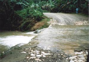 Typical road BEFORE a huge rain