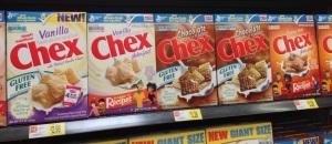 Walmart: Vanilla Chex, Chocolate Chex