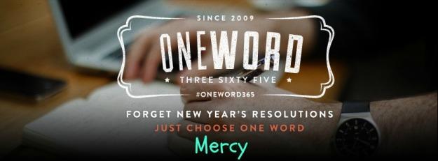 OneWordMercy