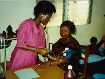 Kumasi clinic nurse