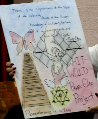 Poster one of our students presented to Whitewill Middle School