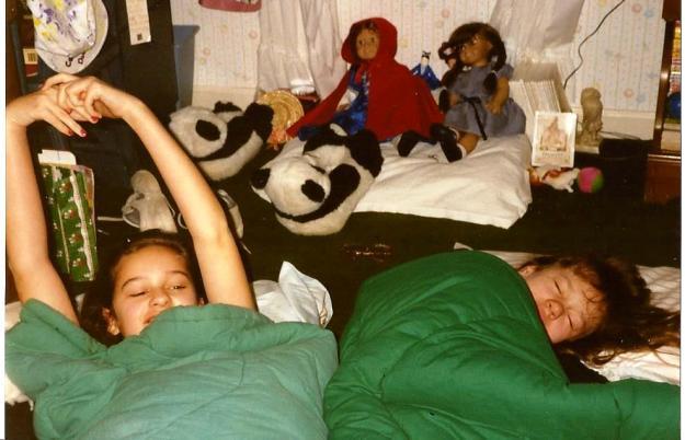sleepovers and American Girl dolls