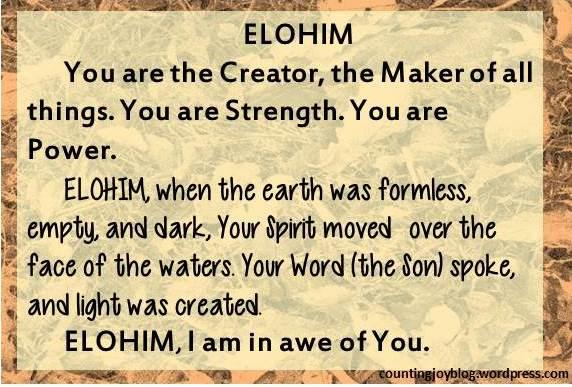11.ELOHIM