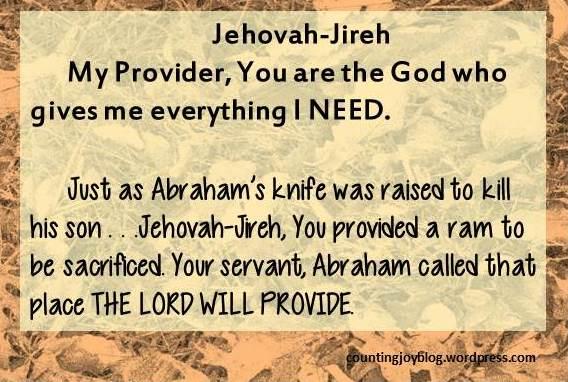 13.JIREH