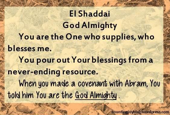 16.ELSHADDAI